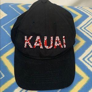 Hawaiian Headwear black SnapBack hat Kauai